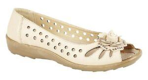 Boulevard Bow Open Toe Summer Shoes Beige PU