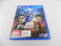 Mint Disc Playstation 4 Ps4 Yakuza 0 ZERO Free Postage