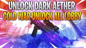 COLD WAR: INSTANT DARK AETHER CAMO/MAX WEAPON LVL XP- LEVEL 1000