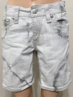 Size 28 ROCK REVIVAL Womens  Emilie Boyfriend Short Tie Dye Distressed Shorts