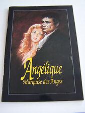 PROGRAMME DU SPECTACLE DE ROBERT HOSSEIN , ANGELIQUE MARQUISE DES ANGES .