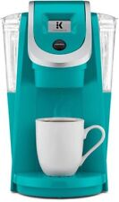 Single Serve Coffee Maker Kcups Turquoise Kitchen Appliance Counter Top New