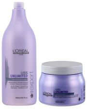L'Oreal Professionnel Liss Unlimited Shampoo 1500ml  and Masque 500ml