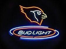 "New Arizona Cardinals Bud Light Neon Light Sign 20""x16"""
