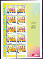 2012 London Olympic Gold Medallists (Canoe/Kayak Men's K4) - MUH Sheetlet of 10
