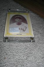James Cool Papa Bell Signed 1976 Baseball Card Autograph Negro League Set