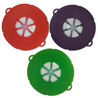 11-Inch Multi-Purpose Silicone Pan Lid Splatter Guard Spill Proof Cover
