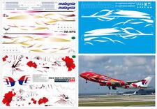 1/144 PAS-DECALS. ZVEZDA. REVELL. BOEING 747-400 MALAYSIA