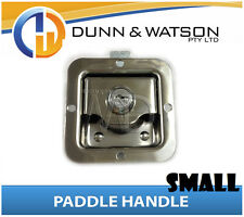 Small Paddle Handle (Lock, Latch) x1 Camper Trailer, Caravan, Toolbox, Motorhome