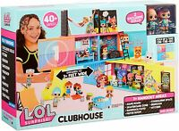 LOL Surprise CLUBHOUSE PLAYSET 2 Exclusive Dolls 40+ suprises  - FAST POST
