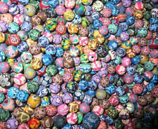100pcs Assorted Colors Fimo Polymer Clay Round Beads 8mm Jewelry Making
