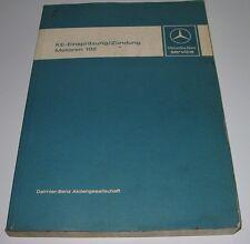 Werkstatthandbuch Mercedes 190 2,3 W 201 KE-Einspritzung / Zündung Motoren 102!