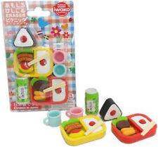 Iwako Japanese Eraser PICNIC Blister Set - Japan import