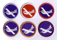 "WWII - GLIDER ""TROOP"" Cap Patches (Set de 6 - Reproductions)"