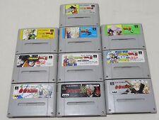 Dragon Ball Z Hyper Dimension Ackman lot of 10 sfc snes Super Famicom Nintendo