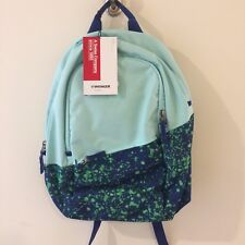 NWT Wenger Turquoise Laptop Criso Backpack