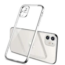 Apple iPhone 11 TPU Protective Case with Appearance Imitation of i12 (Silver)