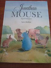 (e1004) libro infantil jonathan mouse ostheeren/mathieu en lengua inglesa EA 1985