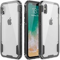 Apple iPhone X Case Rock Sugar Heavy Duty Crystal Hard Clear Durable Shatterproo