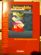 Mathematik Interaktiv 6 NRW kompakt Orientierungswissen. ISBN: 978-3-06-009806-4