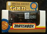 MATCHBOX MB 38 SPECIAL Ed. GOLD SERIES MODEL A FORD GOWING BROS - NEW in BOX
