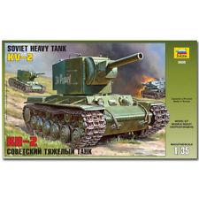 ZVEZDA 3608 KV-2 SOVIET TANK modello Militare KIT 1:35