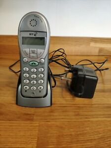 BT Freestyle 2500 Home Phone Spare Handset & Charger Working With Batteries