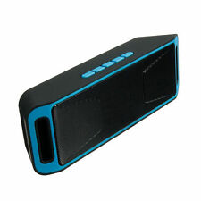 SC208 4.0 Wireless Bluetooth Speaker Stereo Subwoofer Support FM TF USB Blue