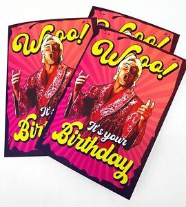 Ric Flair Woo! Birthday Card - WWE | WWF | Wrestling | Funny
