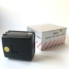 Mamiya HM401 Roll Film Back 120/220 for 645 AF,  AFD, AFD II, AFD III