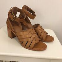 Frye Bianca Hurarche 2-Piece Sandal - Color Tan. Size 7 1/2. New In Box.