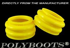 2x Polyboots BMW Telelever Ball Joint Dust Boots 27x34x21 mm Suspension Boots