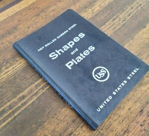 RARE BOOKS Hot Rolled Cabon Steel Shapes & Plates Engineering Machinist Design ☆
