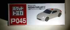 Tomy Pocket Tomica model car P045 Nissan Fairlady Z Police Patrol Grey