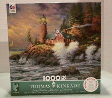Thomas Kinkade Courage Valor Lighthouse Jigsaw Puzzle 1000 Pieces New Sealed