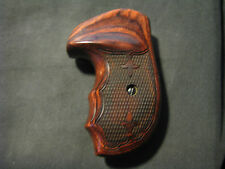 Taurus M-85 M85 Series Small-Frame Rosewood Checkered FG OS Revolver Grips - NEW