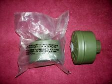 1 Unissued Nato M 40 Chemical Biological Gas Mask Filter Sealed In Orig Pac