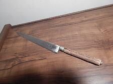 ANTIQUE STAG/STEEL VRAI GUYOT ACIER FONDU CUTLERY FRANCE KITCHEN/CHEF KNIFE USA