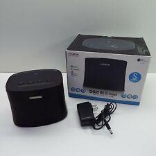 Hitachi W50 Wi-Fi Smart Wireless Speaker Black (LOOK DESCRIPTION) T103
