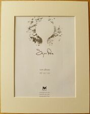 SIGUR ROS () Untitled 2002 Music Press Poster Type Advert In Mount