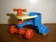Vintage Renwal Plastic Dollhouse #27 Infant Bike Ride On