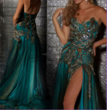 New Peacock Evening Bridesmaid Dress Party Prom Ball Gown Formal Dresses