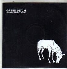 (DA768) Green Pitch, Unpredictable, Illogical - 2005 DJ CD