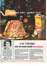 PUBLICITE ADVERTISING 034   1963   ALSA-MAIZENA     biscuit au chocolat