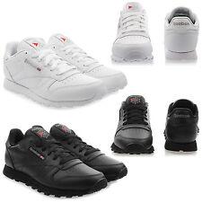 NEW Shoes Reebok Classic Leather Ladies Junior Trainers Original Sale