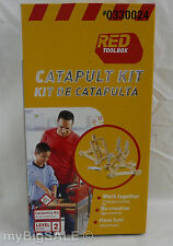 RED TOOLBOX Catapult Set Carpentry Kit K023 Level 2 Work Together Wood Learn 8+
