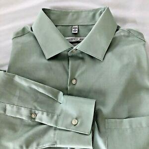 ~Men's Geoffrey Beene Button Front Regular Fit Dress Shirt 17-(34/35)~