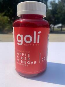 Goli Nutrition Apple Cider Vinegar Gummies 1 pack New FREE SAME DAY SHIP
