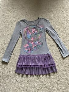 Girl's Justice Skirted Shirt / Dress Size 7