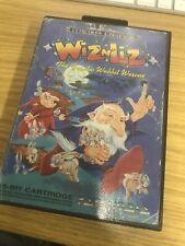 Sega Megadrive Wiz N Liz Game